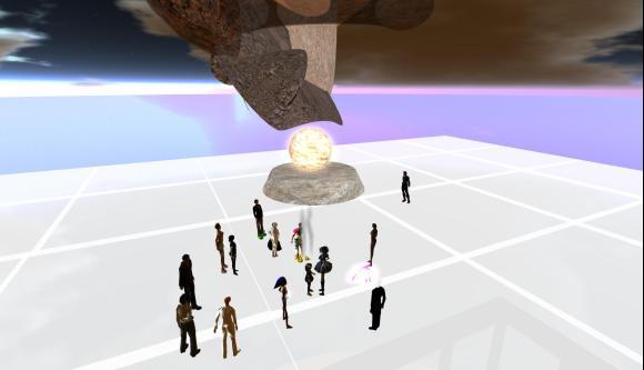 "Image from Wafa Bourkhis' installation ""ReBirth"""